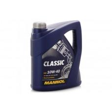 Масло MANNOL Classic моторное 10W40 п/синтетическое 4 литра