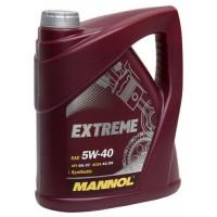 Масло MANNOL Extreme моторное 5W40 синтетическое 4 литра