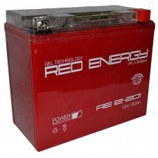 "АКБ  12V - 18 Ач ""Red Energy"" (YTX20L-BS, YB16L-B, YB18L-A)"
