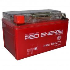 """АКБ  12V -  7 Ач """"Red Energy"""" (YTX7A-BS)"""