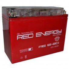 "АКБ  12V - 20 Ач ""Red Energy"" (YTX24HL-BS,Y50-N18-LA)"