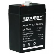 "АКБ   6V - 4.5 Ач ""Security Force"" (SF 6045)"