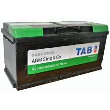 "АКБ 105Ач ""TAB  ""TAB Eco Dry""AGM"" обратная полярность"