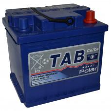 "АКБ 60Ач ""TAB POLAR BLUE""  обратная полярность ""кубик"""