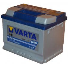 """АКБ  60 """"VARTA"""" Blue Dynamic прямая полярность"""
