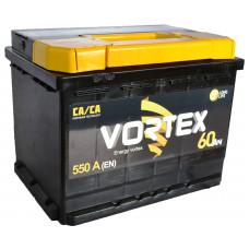 """АКБ  60 """"VORTEX"""" обратная полярность (низкий)"""