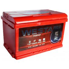 """АКБ 74Ач """"WESTA RED"""" обратная полярность (низкий)"""