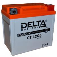 "АКБ 12V - 5 Ач ""Delta CT 1205"" (YTX5L-BS, YTZ7S, YT5L-BS)"