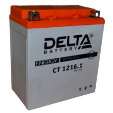 """АКБ 12V - 16 Ач """"Delta CT 1216.1"""" (YTX16-BS)"""