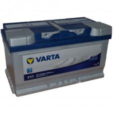 "АКБ  80 ""VARTA"" Blue Dynamic обратная полярность"